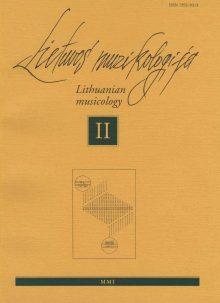 Lietuvos muzikologija Nr.2