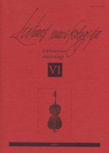 Lietuvos muzikologija Nr.6