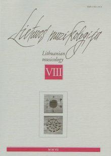 Lietuvos muzikologija Nr.8