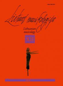 Lietuvos muzikologija Nr.12