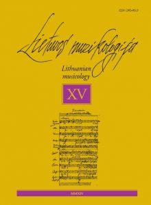 Lietuvos muzikologija Nr.15